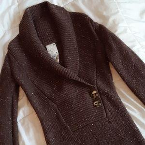 Talula Aritzia Chunky Button Sweater Dress XS